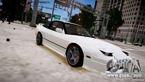 Nissan 240SX Drift for GTA 4 back view