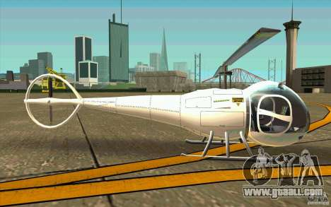Dragonfly - Land Version for GTA San Andreas back left view