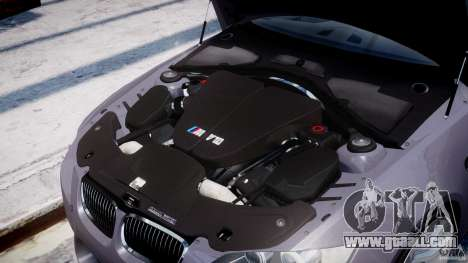 BMW M3 E92 stock for GTA 4 side view