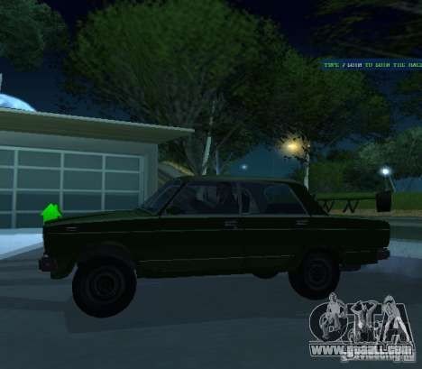 Vaz 2107 Allows for GTA San Andreas back left view