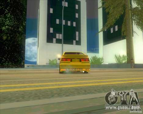 Ae86 tuned by Xavier for GTA San Andreas right view