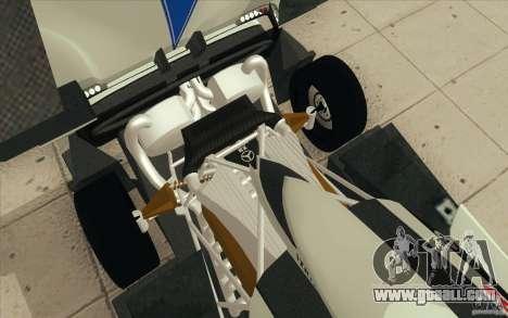 Pagani Zonda Racing Edit for GTA San Andreas bottom view