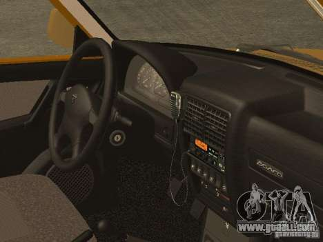 GAZ 3110 Taxi for GTA San Andreas right view