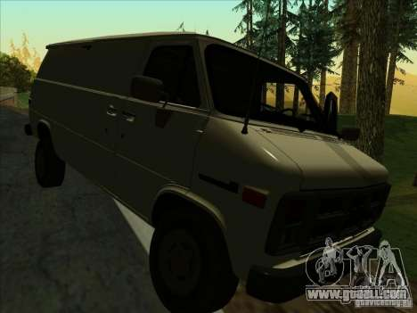 GMC Vandura C1500 for GTA San Andreas