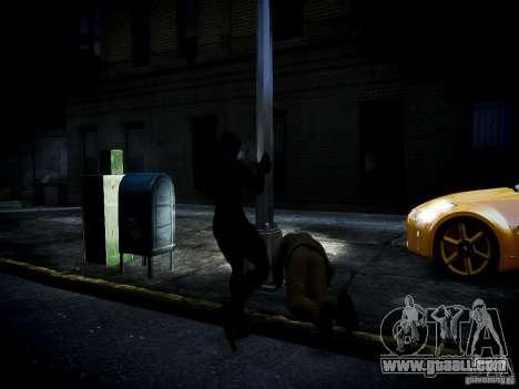 Spider Man Black Suit for GTA 4 forth screenshot