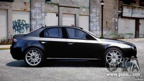 Alfa Romeo 159 Li v2 for GTA 4 left view