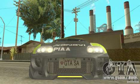 Toyota Supra Tunable 2 for GTA San Andreas