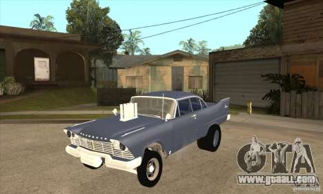 Plymouth Savoy Gasser 1957 for GTA San Andreas