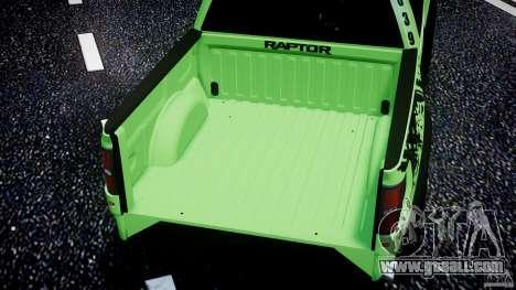Ford F150 Racing Raptor XT 2011 for GTA 4 wheels
