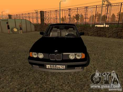 BMW 535i for GTA San Andreas right view