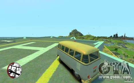 Volkswagen T1 Bus 1967 for GTA 4 left view