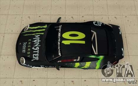 Porsche 997 Rally Edition for GTA San Andreas right view