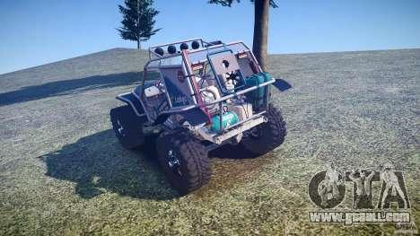 Mud Bogger v1.0 for GTA 4 back left view