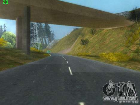 Roads Moscow for GTA San Andreas forth screenshot