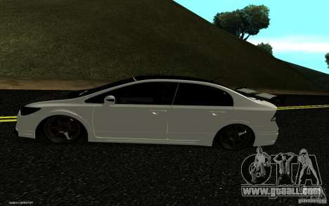 Honda Civic Type R for GTA San Andreas right view