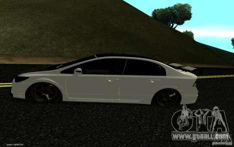 Honda Civic Type R for GTA San Andreas right view
