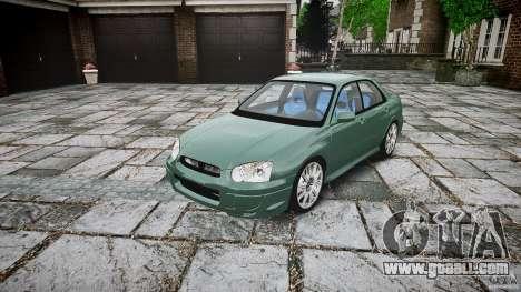 Subaru Impreza v2 for GTA 4