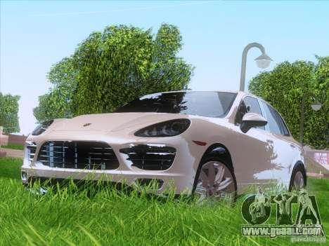 Porsche Cayenne Turbo 958 2011 V2.0 for GTA San Andreas left view