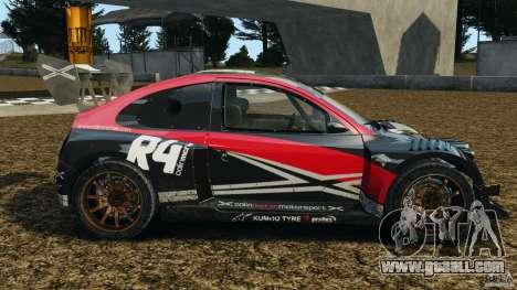 Colin McRae R4 Rallycross for GTA 4 left view