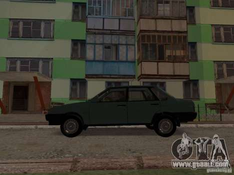 VAZ 21099 CR v. 2 for GTA San Andreas left view