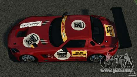 Mercedes-Benz SLS AMG GT3 2011 v1.0 for GTA 4 right view