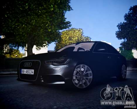 Audi A6 2012 for GTA 4