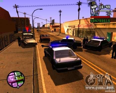 Chasing machines for GTA San Andreas second screenshot