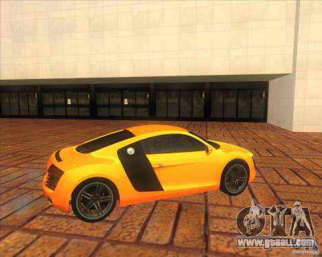 Audi R8 2007 for GTA San Andreas left view