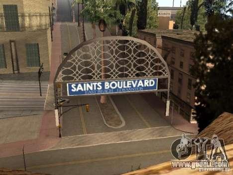 A new stadium in Los Santos for GTA San Andreas