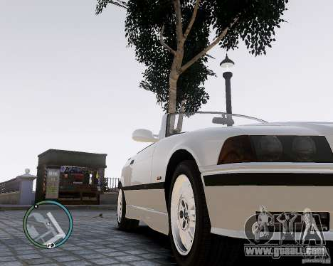 BMW M3 e36 1997 Cabriolet for GTA 4 right view