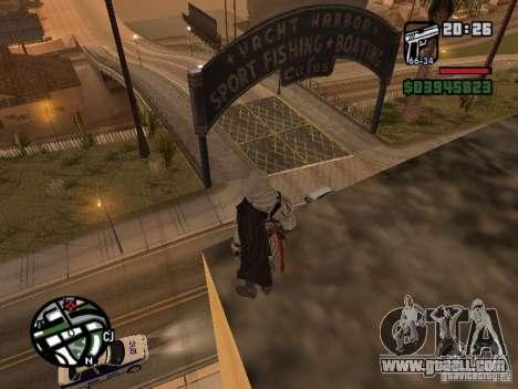 Ezio auditore de Firenze for GTA San Andreas second screenshot