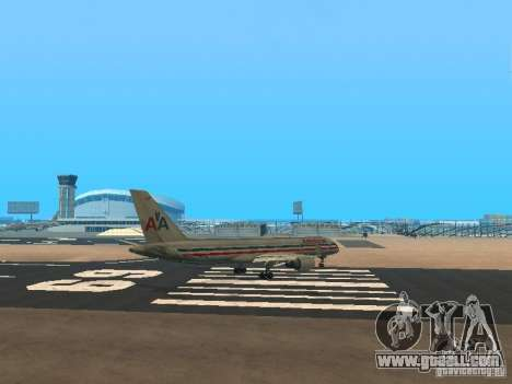 Boeing 757-200 American Airlines for GTA San Andreas right view
