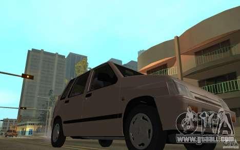 Daewoo Tico SX for GTA San Andreas side view