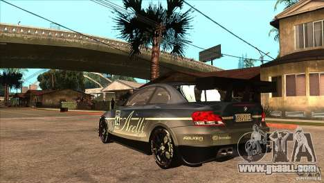 BMW 135i Coupe GP Edition Skin 3 for GTA San Andreas