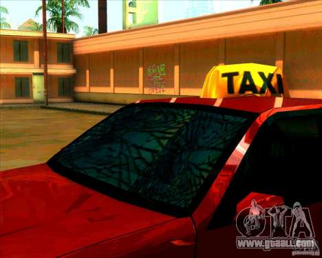 New headlights and windscreen for GTA San Andreas second screenshot
