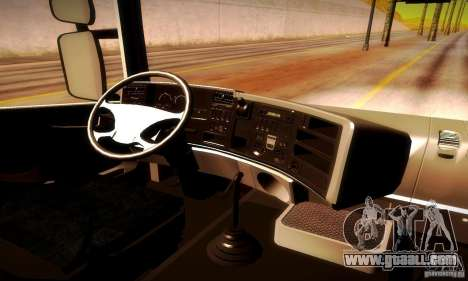 Scania R620 Emercom Of Russia for GTA San Andreas back view