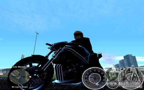 Script Chevrolet Camaro Spedometr for GTA San Andreas third screenshot