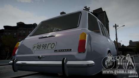 VAZ 2102 for GTA 4 side view