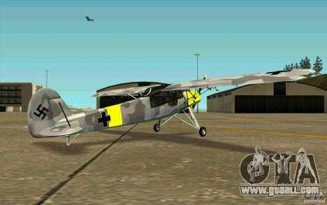 Fiesler Storch for GTA San Andreas right view
