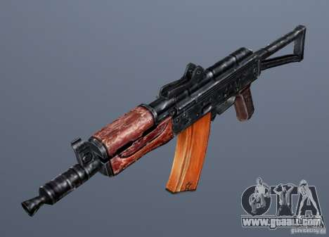 AKS74U for GTA San Andreas