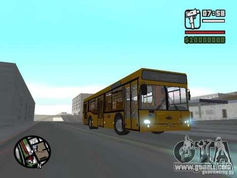 MAZ 103.465 for GTA San Andreas