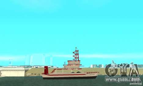 Vice City Ferryboat for GTA San Andreas left view
