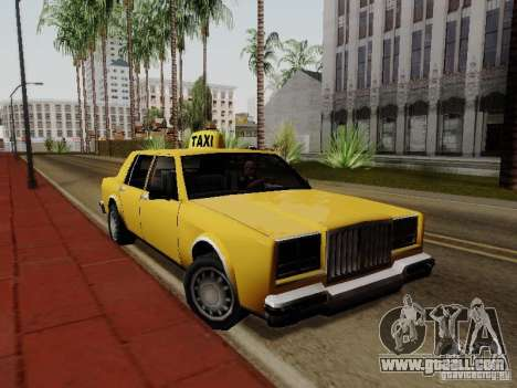 Greenwood Taxi for GTA San Andreas