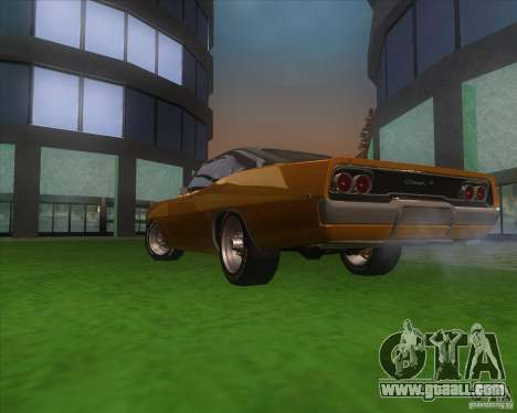 Dodge Charger RT 1968 for GTA San Andreas side view
