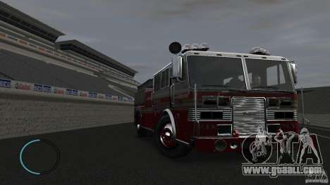 NEW Fire Truck for GTA 4 inner view