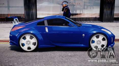Nissan 350Z Veilside Tuning for GTA 4 interior