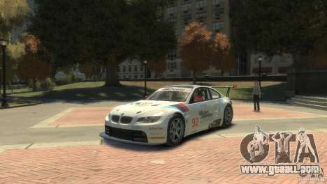 BMW M3 Gt2 for GTA 4 left view