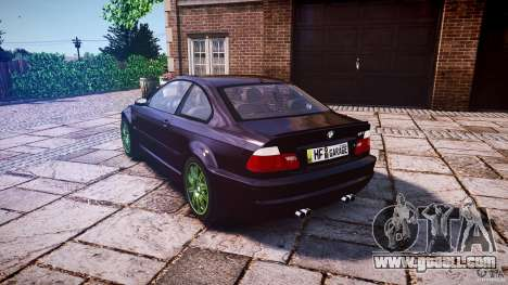 BMW M3 e46 2005 for GTA 4 back left view