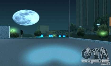 Neon color lamps for GTA San Andreas fifth screenshot