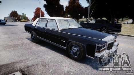 Cadillac Fleetwood Brougham 1985 for GTA 4